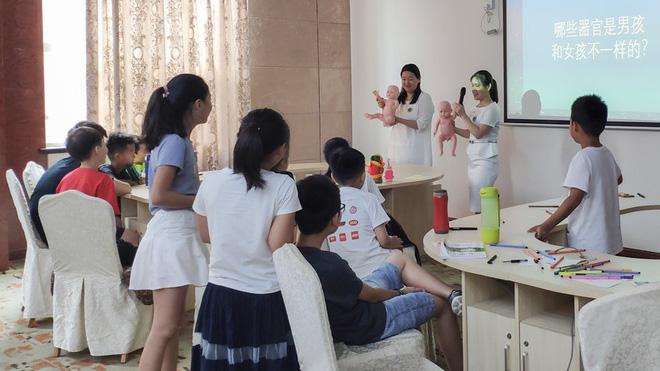 Lớp giáo dục giới tính cho trẻ tiểu học ở Trung Quốc