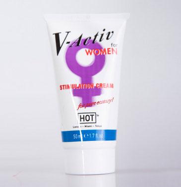 Gel bôi trơn tình dục chống khô rát âm đạo nữ V-Activ 50ml