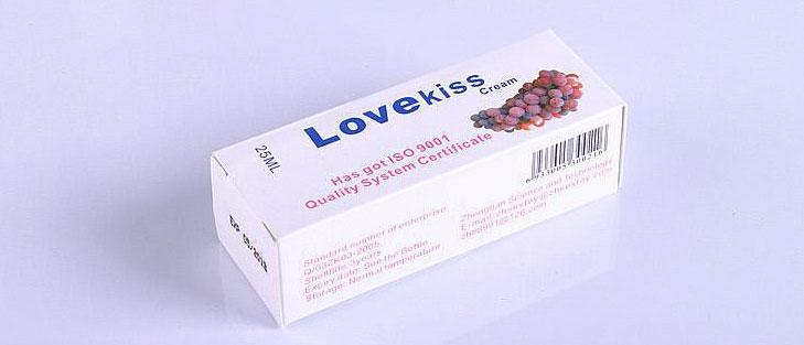 Gel bôi trơn tình ái nam nữ hương nho Love Kiss 25ml nhập khẩu cao cấp
