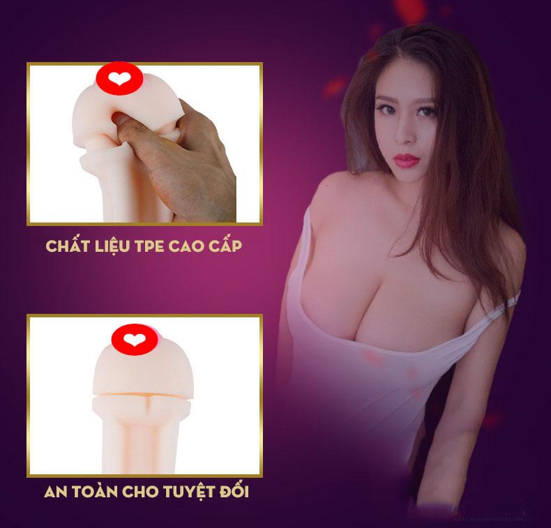 Âm đạo silicon cao cấp SMOO đồ chơi tình dục nam - sextory