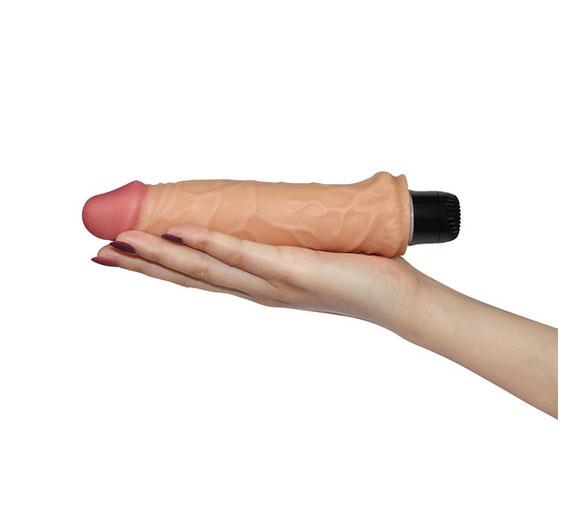 Dương vật  giả  cầm tay silicon rung REAL FEEL 8.0 LOVETOY