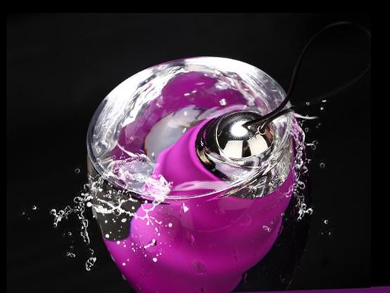 Trứng rung tình yêu silicon cao cấp không dây rung 10 chế độ