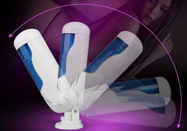 Máy thủ dâm ruột silicon thụt xoay tự động EASY LOVEL