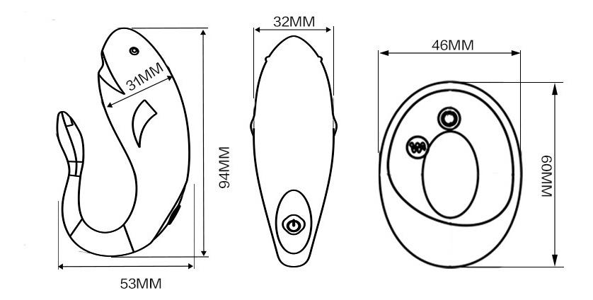 Máy rung tình dục kích thích điểm G không dây - đồ chơi tình dục nữ