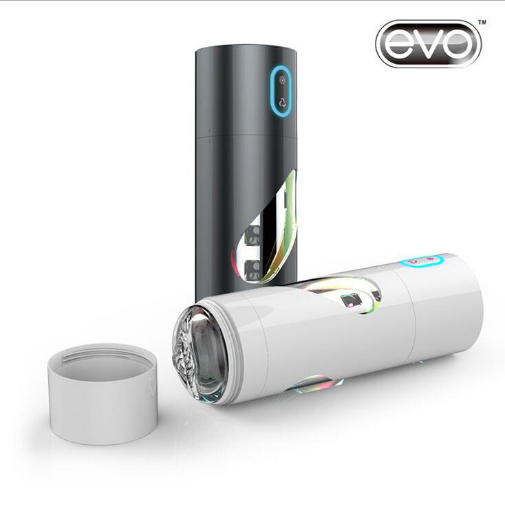 Âm đạo silicon tự động EVO - nước hoa kích dục
