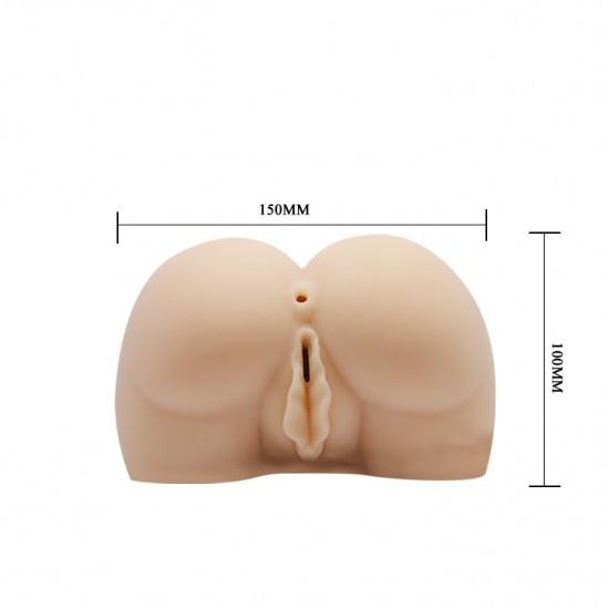 Búp bê thủ dâm nam giới chổng mông silicon 3D BAILE