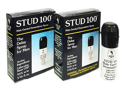 Thuốc xịt kéo dài thời gian STUD 100 - tăng sinh lý nam