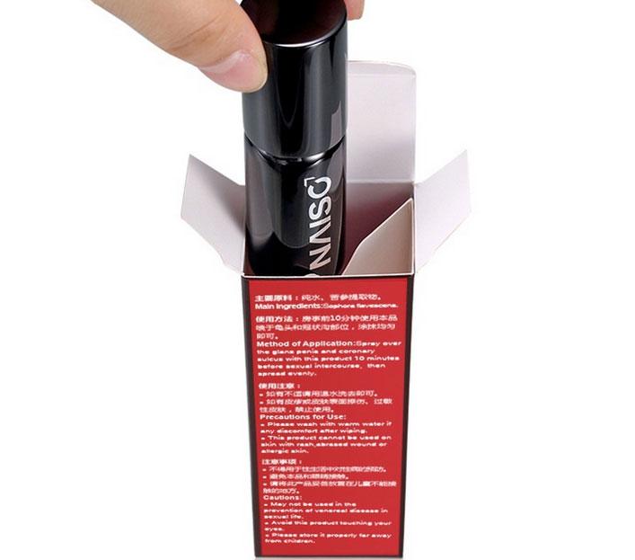 Thuốc chống suất tinh sớm dạng xịt NAISO - trị xuất tinh sớm cho nam giới