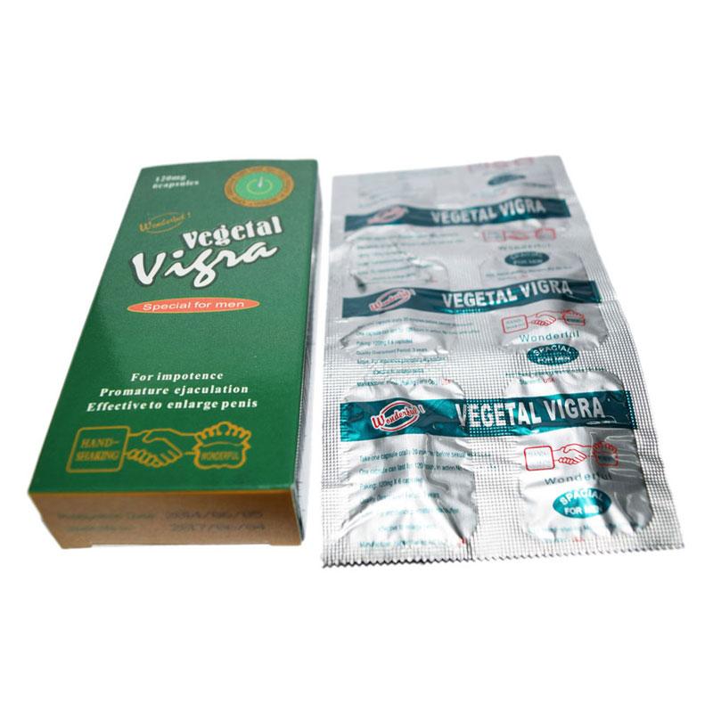 Thuốc uống tăng cường sinh lý Vegetal Vigra - thienduongtinhai.com